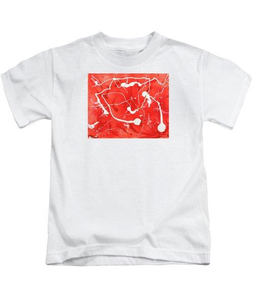Red Spill Kids T-Shirt