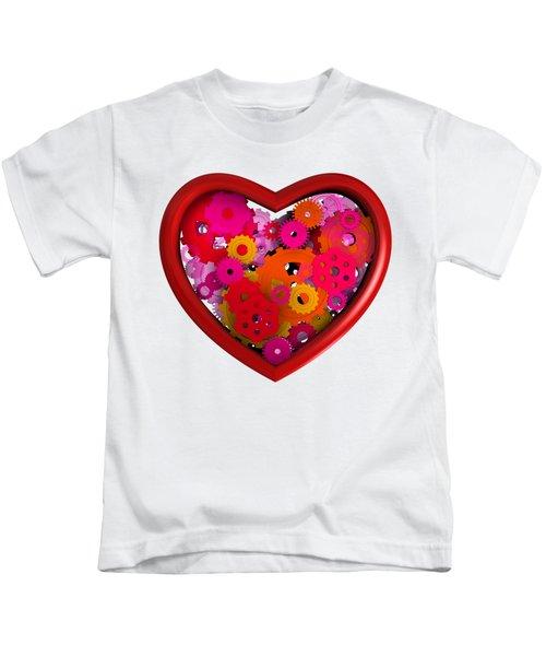 Redish Mechanical Love Kids T-Shirt