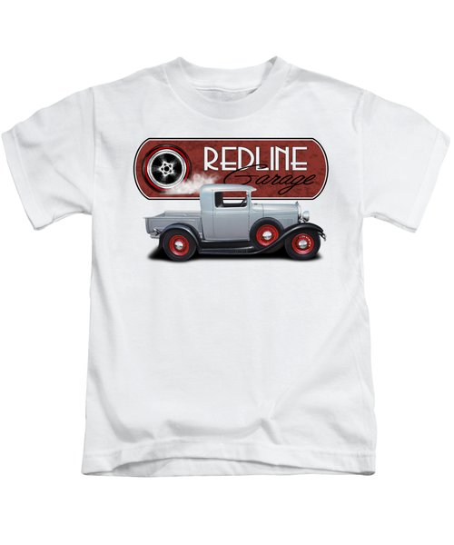Redline Street Rod Kids T-Shirt