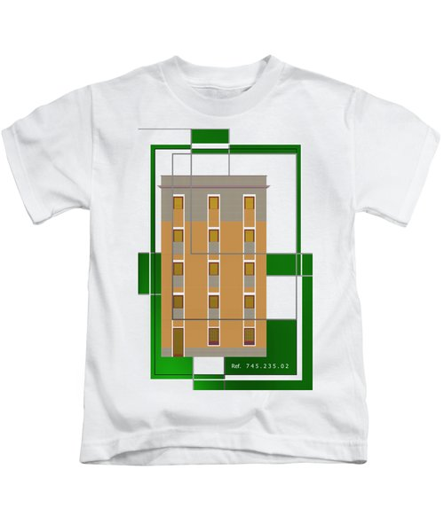 Ref. 7 House Over Green Kids T-Shirt