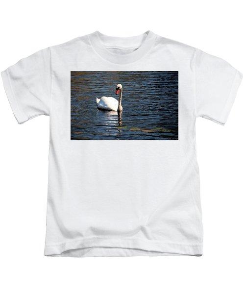 Reflecting Swan Kids T-Shirt