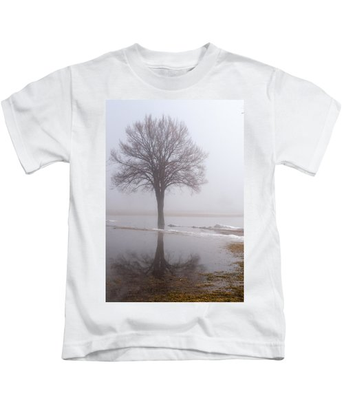 Reflecting Tree Kids T-Shirt