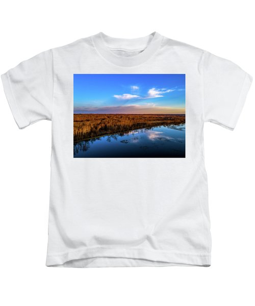 Reflection Pool Kids T-Shirt