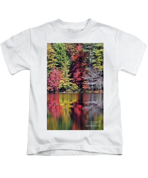 Reflections Of A Bare Tree Kids T-Shirt