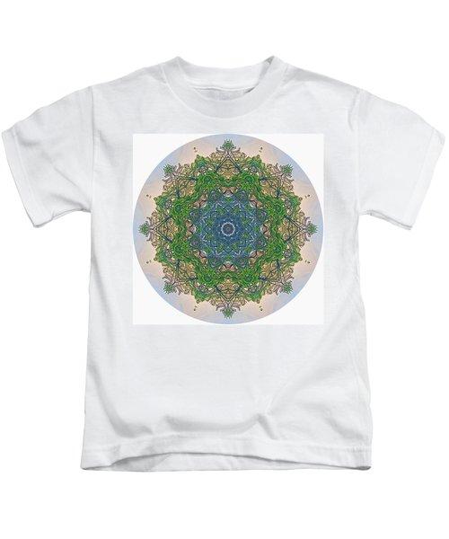 Reflections Of Life Mandala Kids T-Shirt
