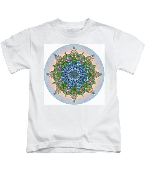 Reflections Of Life Mandala 2 Kids T-Shirt