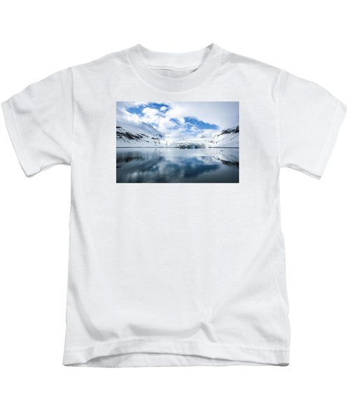 Reid Glacier Glacier Bay National Park Kids T-Shirt
