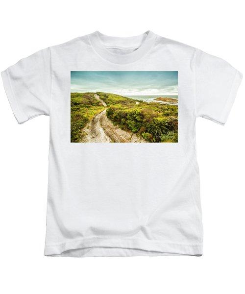 Remote Australia Beach Trail Kids T-Shirt