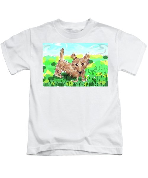 Remy, Laird Of The Cairn Kids T-Shirt
