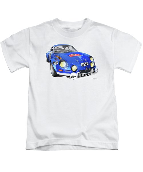 Alpine Renault A110 Kids T-Shirt