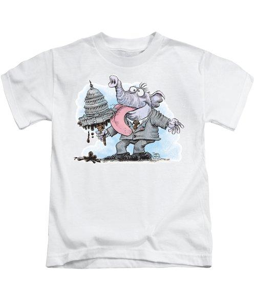 Republicans Lick Congress Kids T-Shirt