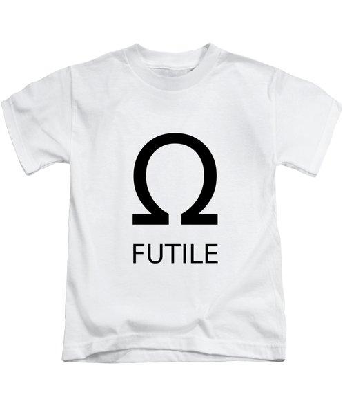 Resistance Is Futile Kids T-Shirt