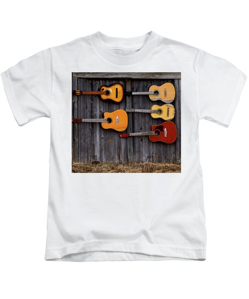 Retired Guitars  Kids T-Shirt