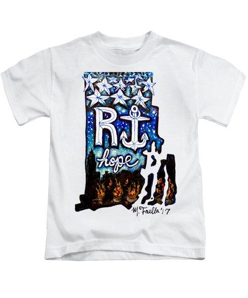 Rhode Island, Hope Kids T-Shirt
