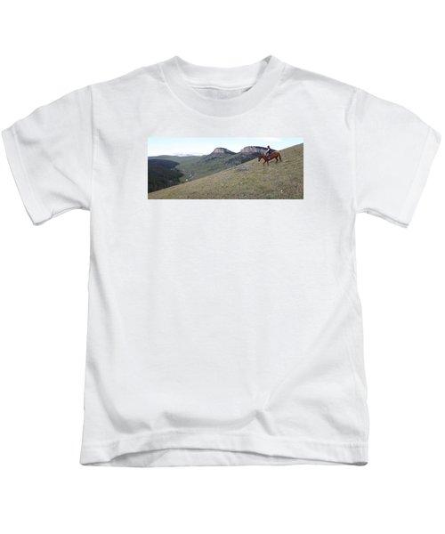 Ridge Riding Kids T-Shirt