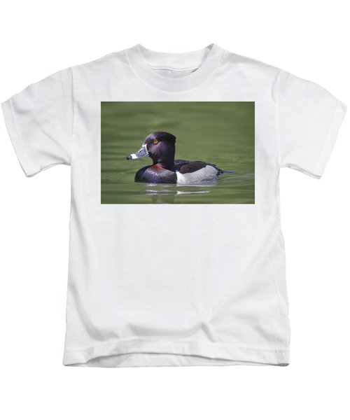Ring-necked Duck Profile Kids T-Shirt