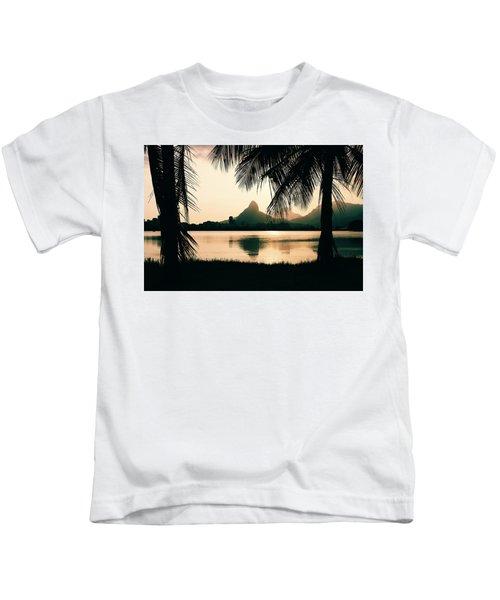 Rio De Janeiro, Brazil Landscape Kids T-Shirt
