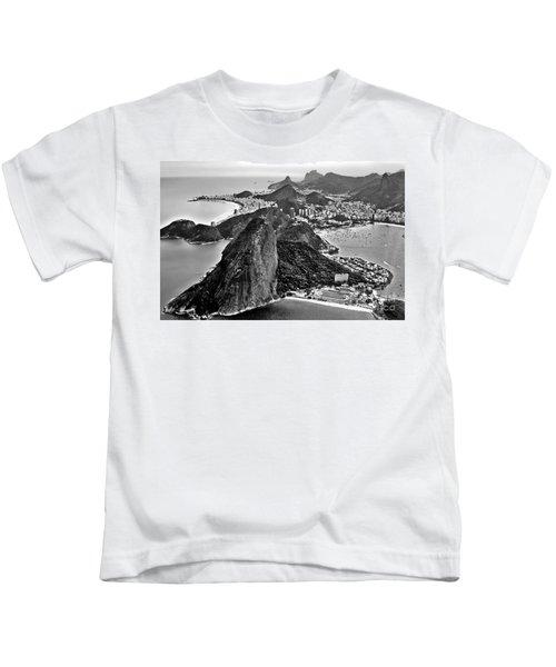 Rio De Janeiro - Sugar Loaf, Corcovado And Baia De Guanabara Kids T-Shirt