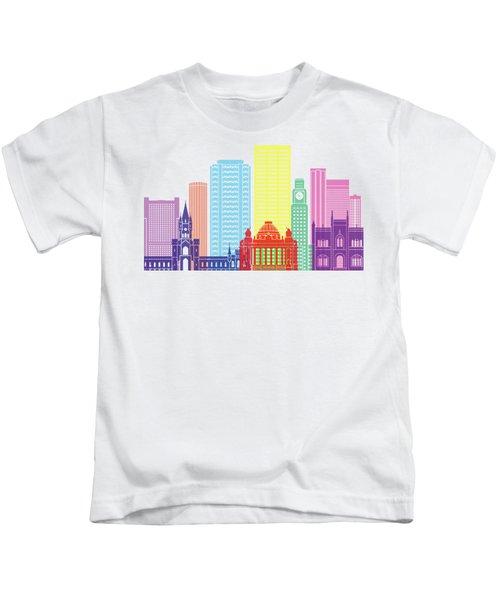 Rio De Janeiro V2 Skyline Pop Kids T-Shirt