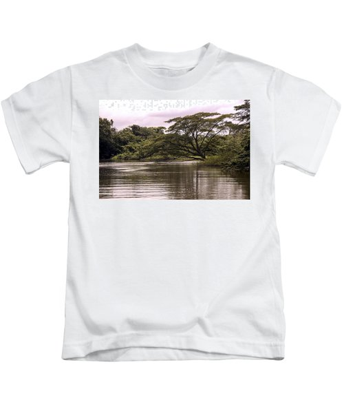 Riparian Rainforest Canopy Kids T-Shirt