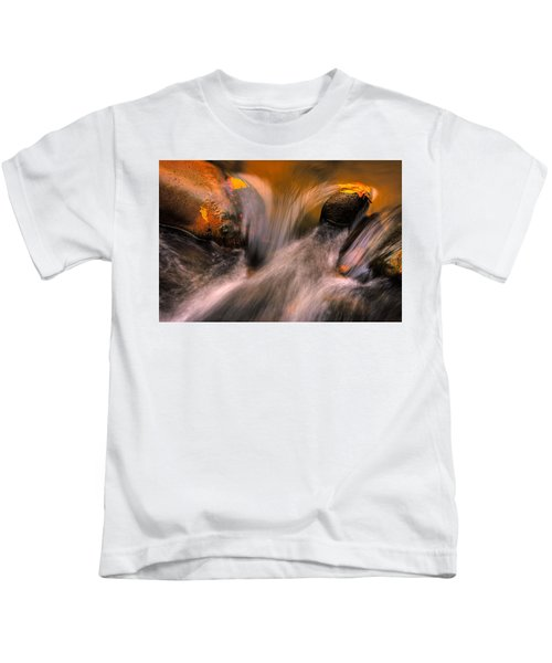 River Rocks, Zion National Park Kids T-Shirt