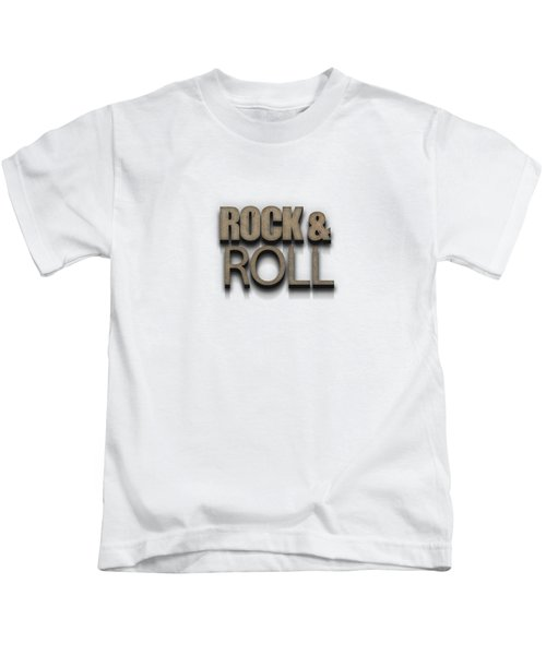 Rock And Roll Tee Stone Kids T-Shirt