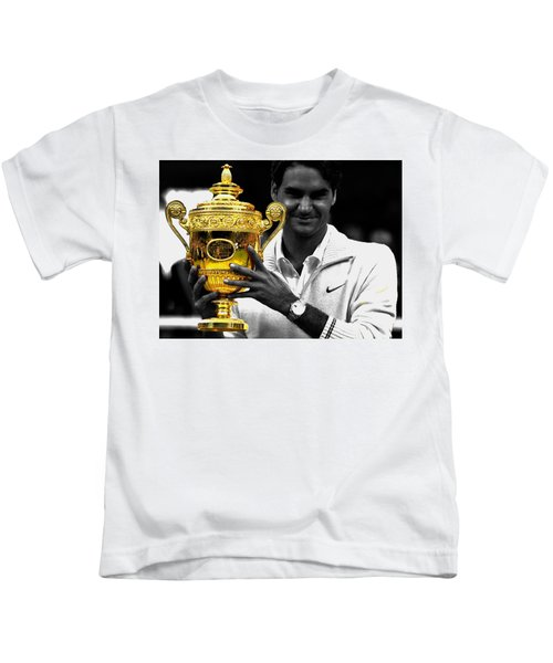 Roger Federer 2a Kids T-Shirt
