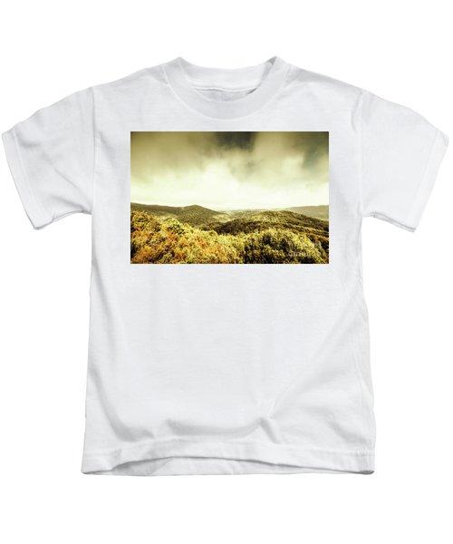 Rolling Hills Of The Tarkine, Tasmania Kids T-Shirt