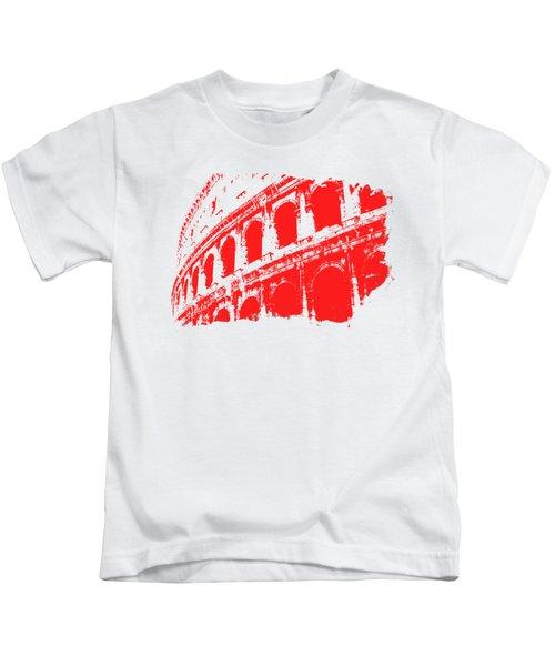 Roman Colosseum View Kids T-Shirt