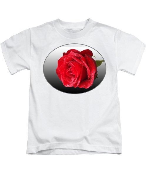 Romantic Rose Kids T-Shirt