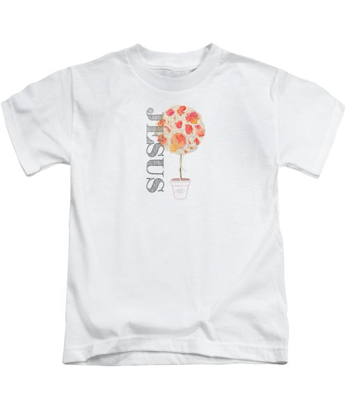 Rooted And Firmly Grounded In Love Kids T-Shirt