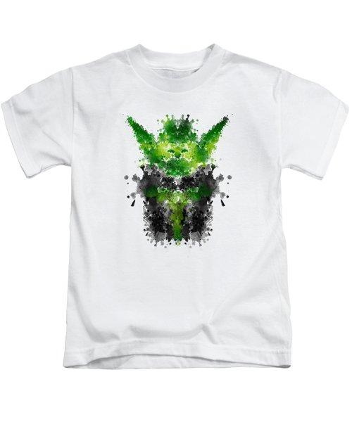 Rorschach Yoda Kids T-Shirt