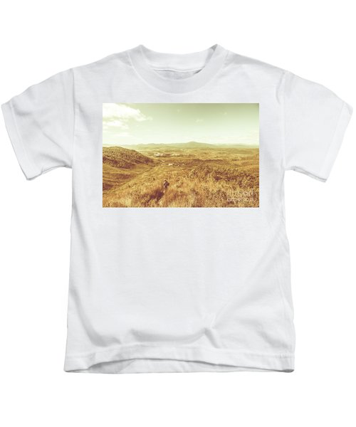 Rugged Bushland View Kids T-Shirt