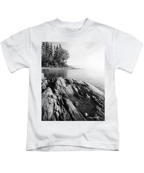 Rugged Lake Shore Kids T-Shirt