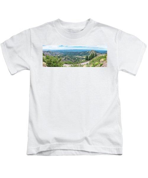 Ruidoso, Nm Panoramic Kids T-Shirt