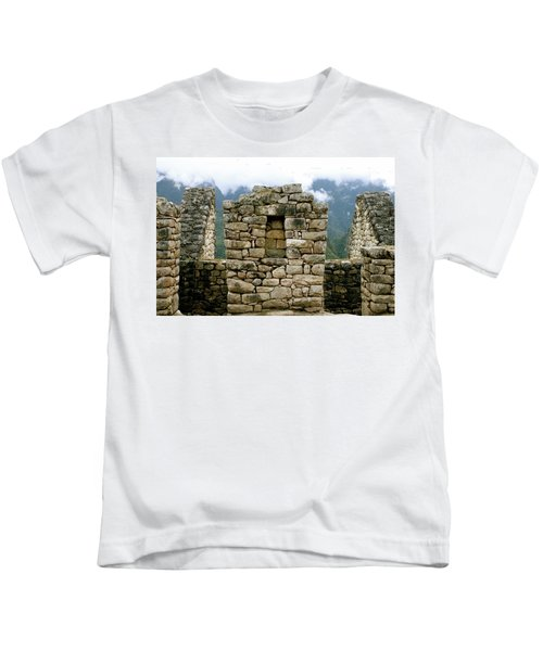 Ruins In A Lost City Kids T-Shirt