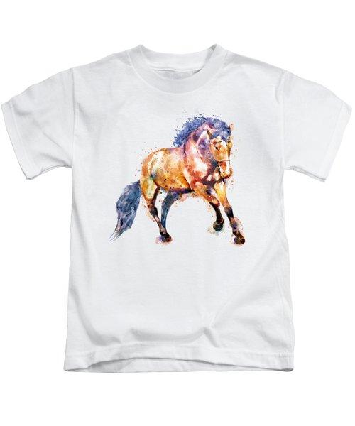 Running Horse Kids T-Shirt