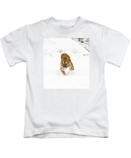 Running Tiger Kids T-Shirt