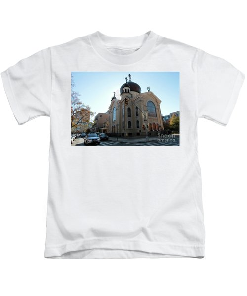 Russian Orthodox Cathedral Of The Transfiguration Of Our Lord Kids T-Shirt