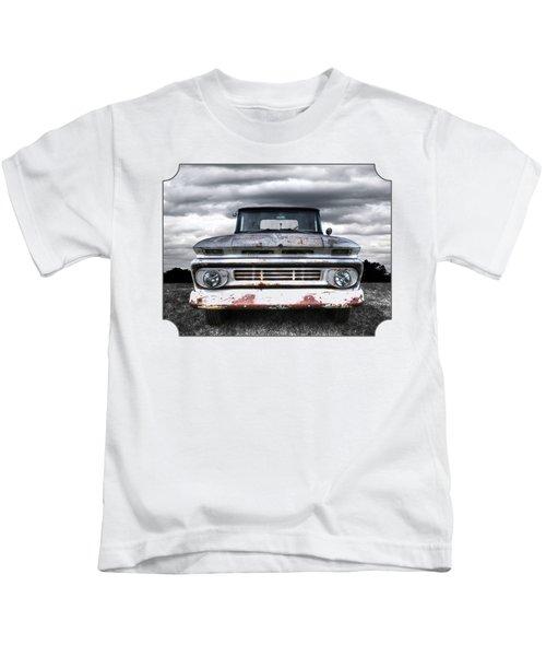 Rust And Proud - 62 Chevy Fleetside Kids T-Shirt