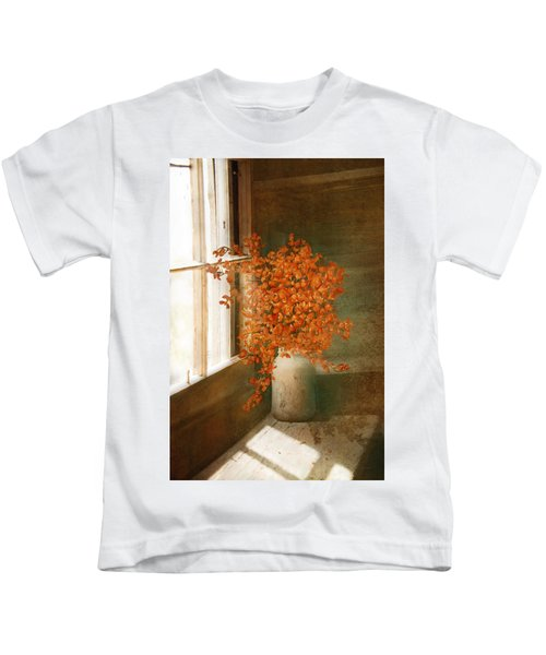 Rustic Bouquet Kids T-Shirt