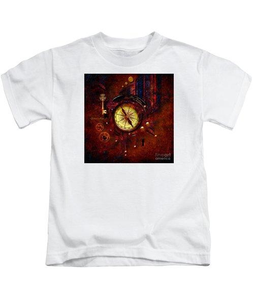 Rusty Time Machine Kids T-Shirt