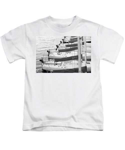 Sailboats Kids T-Shirt