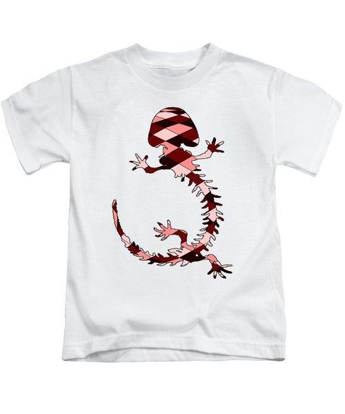 Salamander Skeleton Kids T-Shirt