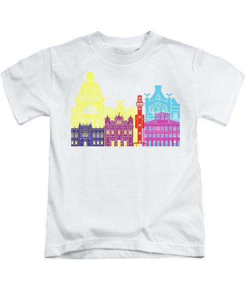 Salvador De Bahia V2 Skyline Pop Kids T-Shirt