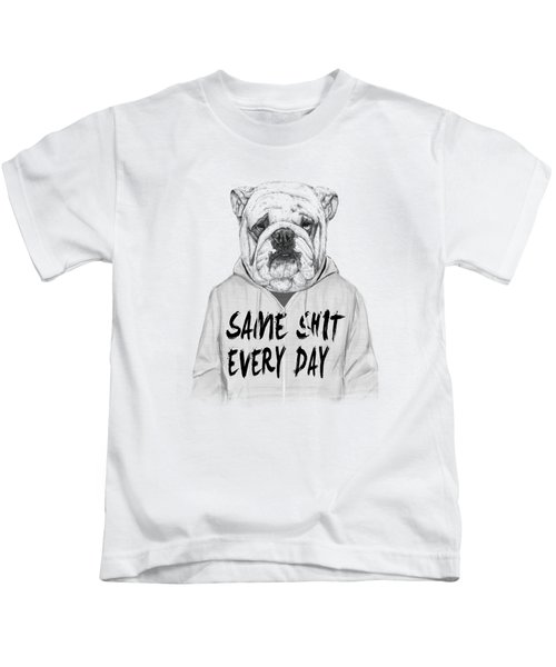 Same Shit... Kids T-Shirt by Balazs Solti