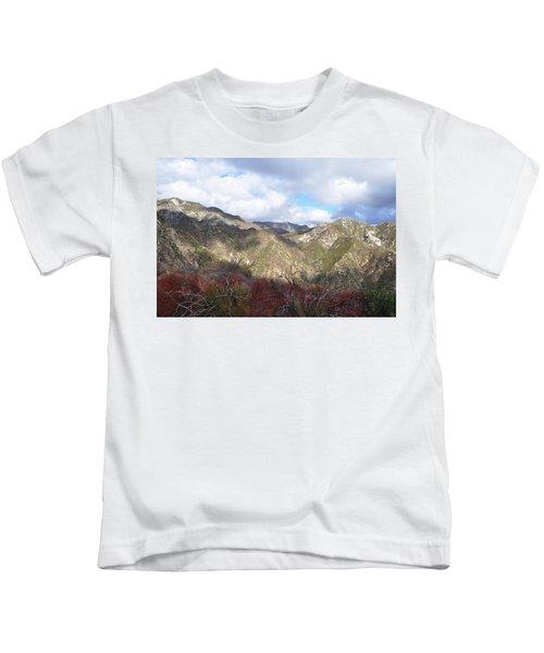 San Gabriel Mountains National Monument Kids T-Shirt