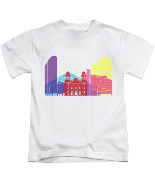 San Jose Skyline Pop Kids T-Shirt