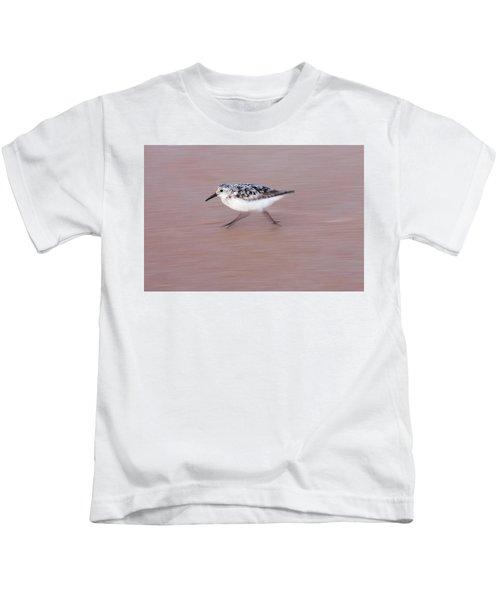 Sanderling On The Run Kids T-Shirt