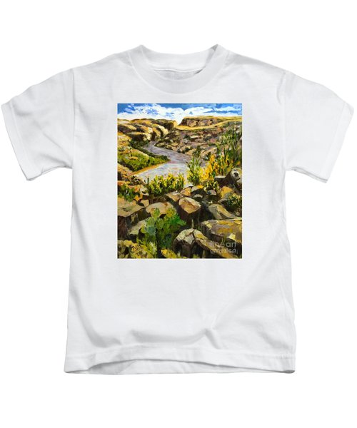 Santa Elena Canyon Kids T-Shirt